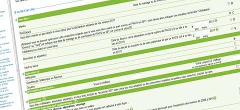 Corriger une télédéclaration de revenus en ligne